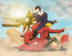 Trigun Fan Art by Reiman76