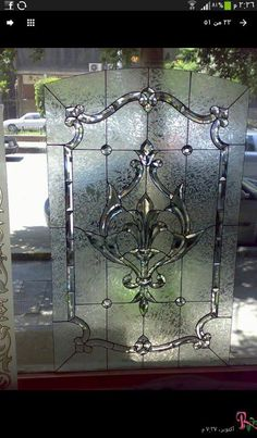 Leaded Glass, Stained Glass Windows, Glass Door, Glass Art, Frosted Glass Design, Funky Decor, Steel, Gray, Pattern