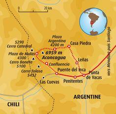Tour de l'Aconcagua #argentine #chili #trekking #sport #aventure
