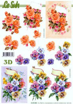 LAMINAS PARA ARTES FRANCES O 3D (pág. 9) | Aprender manualidades es facilisimo.com