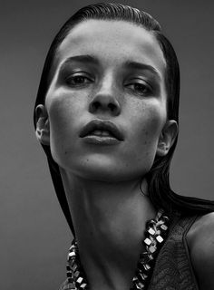 Remarkable Face!!    Hanna Sørheim by Philip Messmann for Eurowoman