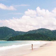 Mawun Beach. Lombok.