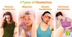 4 types of headaches.
