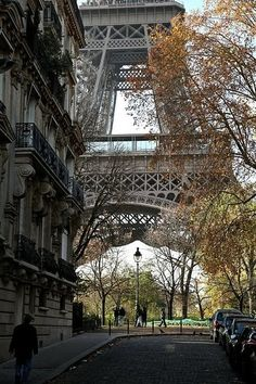 Love...Eiffel Tower street view