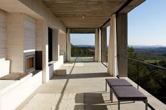 Image 4 of 23 from gallery of Solo House / Pezo von Ellrichshausen. Photograph by Cristobal Palma / Estudio Palma