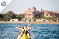 We have many reasons to be happy.. Would you like to join us? 🔆😀 Mutlu olmak için çok nedenimiz var.. Bize eşlik etmek ister misiniz?  #watersports #hifun www.ichotels.com.tr