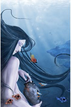 ✯ Peaceful ocean ::•:: Artist Anne-Claire Payet ✯