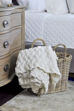 Chunky throw. Perfec