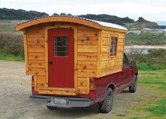 Tumbleweed Vardo Camping Tiny House – Plans on Sale