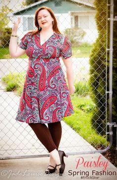 Paisley to rock Spring Fashion Karina Dresses #Frockstar #KarinaDresses