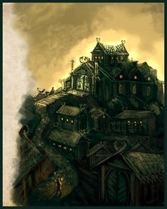 I love Edoras because it's so rustic