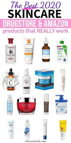 Recommended skincare products