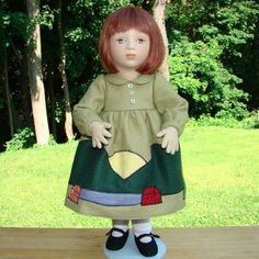 1995 Maggie Iacono Effie Felt Girl Doll Limited Edition 42/75 #MaggieIacono
