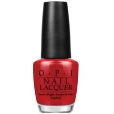 Opi Opi Nail Lacquer Nail Polish, Love Is In My Cards   Bluefly.Com ($8.49) ❤ liked on Polyvore featuring beauty products, nail care, nail polish, nails, beauty, makeup, red, opi nail lacquer, opi nail care and opi