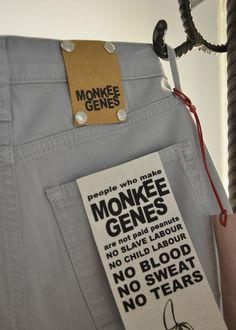 Monkee Genes Classic Skinny Oyster Grey | Supergoods Ecodesign & Fair Fashion