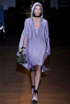 Love the anoraks from Fashion Week, but I just can't with this.