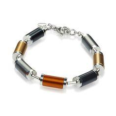 Coeur de Lion Vivacity Steel Cylinder Bracelet - A 4152 #coeurdelion
