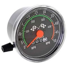 a bike speedometer--fun!