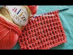 Alize Diva İle Şiş Örgüyü Merak Edenlere Özel - YouTube Baby Knitting Patterns, Diva, Make It Yourself, Lace, Blog, Handmade, Youtube, Facts, Crocheting