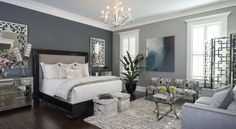 Master Bedroom Ideas #PoshInteriors #InteriorDesign