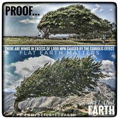 Flat Earth - Proof of Corolis Effect Found