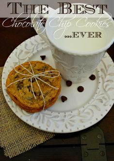 The Kurtz Corner: The Best Chocolate Chip Cookies...Ever