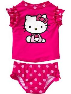 Hello Kitty® Swimsuits for Baby | Old Navy-for Siena's addiction to all things kitty