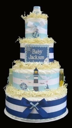 I don't know a baby named Jackson, but i'm jealous of the people at that baby shower. Getting to eat that delicious cake!:P