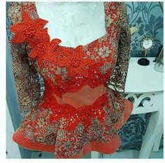 Fall in Love with These Eye-Popping & Feminine Silhouette Ankara Peplum Styles - Wedding Digest Naija African Dresses For Kids, African Print Dresses, African Print Fashion, Africa Fashion, African Wear, African Attire, African Fashion Dresses, African Women, Fashion Outfits