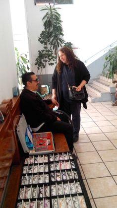 Exámen de la vista gratis a compañeros Sindicalizados en el Centro Cultural San Diego.