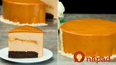 Entrement cu banane,caramel și glazură oglindă-mai fin și delicios ca ac. Food Cakes, Napoleon Cake, Cheesecake, Mac And Cheese Homemade, Bulgarian Recipes, Honey Cake, No Cook Desserts, Mousse Cake, Cake Shop