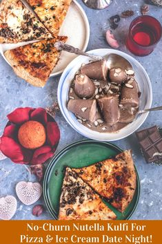 Pair these delicious vegetarian Pizzas from Publix with this sinfully rich & creamy Nutella Kulfi! It's a no-churn Indian ice cream prepared in a blender! Fruit Milkshake, Ice Cream Smoothie, Indian Ice Cream, Raspberry Ice Cream, Nutella Chocolate, Vegetarian Pizza, Kulfi, Ice Cream Cookies, Fresh Cream