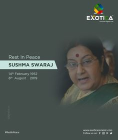 Saddened by the news of the passing of an extraordinary woman & leader who devoted her life to public service. Hd Design, Om Shanti Om, Digital Wall, Public Service, Rest In Peace, Wall Tiles, Woman, Architecture, News