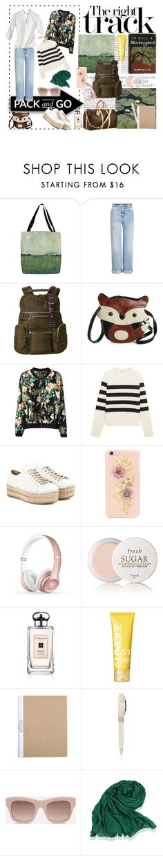 """""""Last Summer weeckend"""" by nathalie-puex ❤ liked on Polyvore featuring Thumbprintz, Alexander McQueen, Louis Vuitton, Tumi, Jil Sander, Prada, Dolce&Gabbana, Beats by Dr. Dre, Fresh and Jo Malone"""