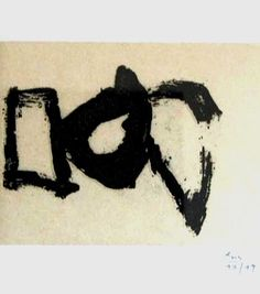 """Robert Motherwell """"Hollow Men ( 2 )"""" 1985 Prints and multiples, lift-ground etching with aquatint and chine colle"""