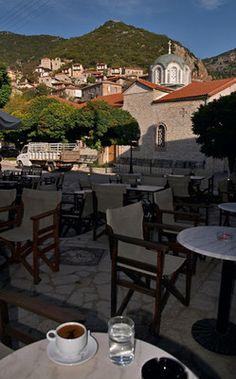Stemnitsa Village, Arcadia (Peloponnese), Greece Corinth Canal, Social Distortion, Visit Greece, Us Sailing, Greek Isles, Greeks, Ancient Greek, Coffee Time, Dream Vacations