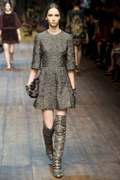 MILAN Fall/Winter 14.15 Ready-To-Wear Dolce & Gabbana 돌체 & 가바나 Creative D...