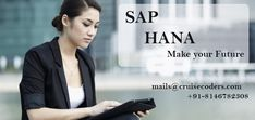 #SAP #HANA #Training make your #future #shining and #brighter in latest #technology world.  Call us for #free #demo #classes in #Chandigarh call now at (+91) 81467-82308 or visit us here www.cruisecoders.com