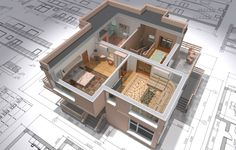 Easy Nirman Provides all the information regarding architectural Drawing Design and AutoCad mentioned above are specified. Building Information Modeling, Concrete Patios, Revit Architecture, Minimalist Architecture, Programa Autocad, 3d Modelle, Home Improvement Loans, Isolation, Home Builders