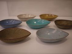 slip-cast ceramic bowls