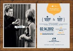 35 Stylish and Creative Wedding Invitation Designs for Inspiration