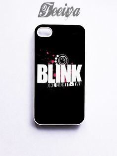 Blink 182 One Eighty Two Pop Rock Band Logo Phone Cases For iPhone, Sa | Feeiva