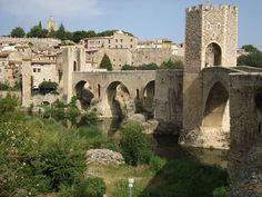 6 cosas para ver en Besalú. Girona. Caaluña