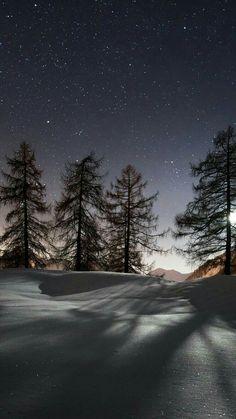 Twilight sky, Stars and Moonbeams ...