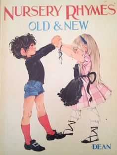Rhymes Old and New 1972 - Vintage Children's Book by Grahame Johnstone Winbolt-Lewis