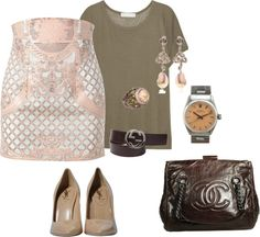 """NUDE"" by celene310 on Polyvore"