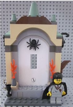 LEGO Harry Potter Single Switchplate switch by CynsSensations, $39.00