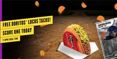 FREE Doritos Locos Taco at Taco Bell on http://www.icravefreestuff.com/