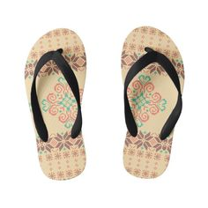 f77a836a565b Christmas knitted pattern kid s flip flops  christmas  kids  clothing  baby  Kinderen Kerstmis