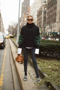 See All the Best Street Style from NYFW: Camille Charriere